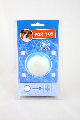 Cooling Dog Toy- High Quality Gel Chew Toy! Ice Cold Ball