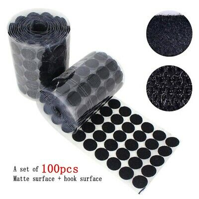 Sticky Back Coins 100 Pairs Waterproof Double Sided Self Adhesive Dots Tape New.