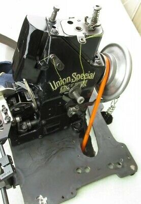 Union Special 43200G Style 43200H Tested & Serviced Head, Base Plate and Folder