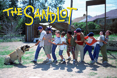 The Sandlot 24X36 Poster Movies Classic Baseball Benny The Jet Rodriguez Gift!!!