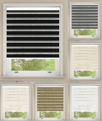 Premium Day and Night Cassette Roller Blinds Up To 160cm x 250cm