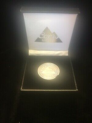 """Collectible Coors Light """"Born In The Rockies"""" """"Est 1978"""" coin W/ display box."""