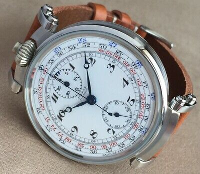 JAEGER chronograph marriage pocket watch movement  !