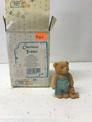 Cherished Family Younger Son Cherished Teddies Child Of Hope #624837