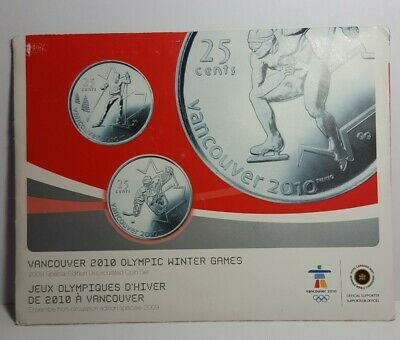2009 Canada Vancouver Olympic 2010 Special Edition Uncirculated Coin Set