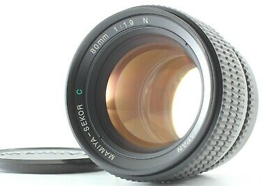 [Exc+++] Mamiya Sekor C 80mm f/1.9 N Lens for 645 1000s Pro from Japan 678