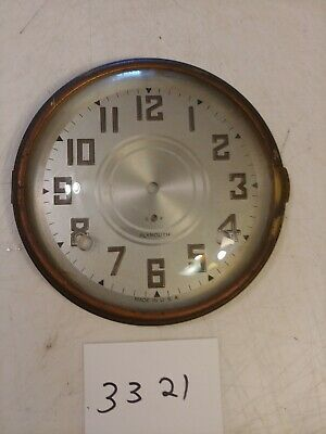 Seth Thomas Plymouth Tambour Mantle Clock Dial & Bezel With Glass