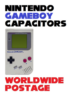 Nintendo Gameboy DMG-01 Cap Kit / Complete 19 x Capacitor Kit / Repair Kit