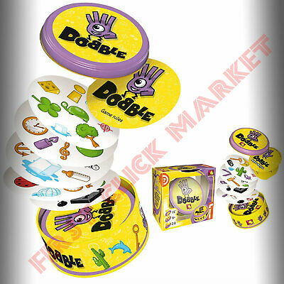 Dobble Fun Family Card Game Kids Children's Gift Birthday Present Funny Playing