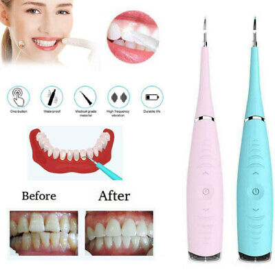 Portable Electric Sonic Dental Scaler Tooth Calculus Remove Tooth Wihtening Tool
