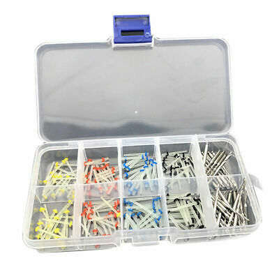160 Pcs Dental Glass Fiber Post Single Refilled Package & For 32 Free Drill X2B0