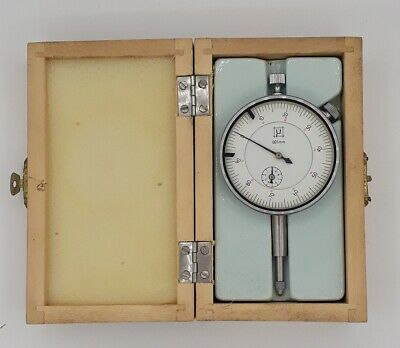 Micron Metrology Dial Gauge 0-12mm Gauge Caliper Tools Top Condition