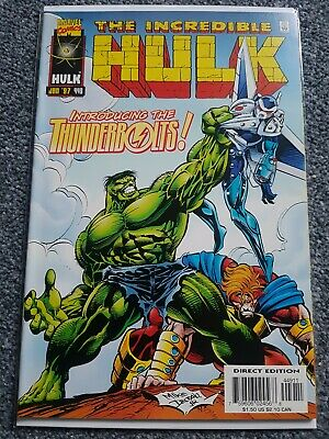 Incredible Hulk #449 First Appearance Thunderbolts (Rumoured Movie In The Works)