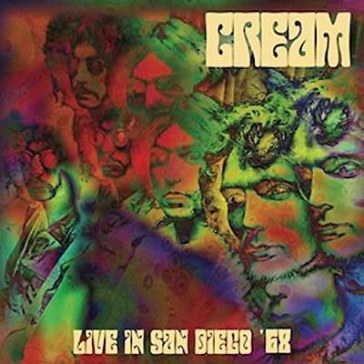 Cream-Live In San Diego '69-Import Cd With Japan Obi