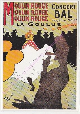 CP PUBLICITE ADS MOULIN ROUGE LA GOULUE Edt CLOUET 10187
