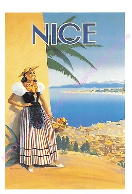 CP AFFICHE REPRODUCTION NICE Edt CARTEXPO 10876