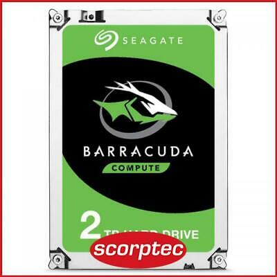 Seagate BarraCuda HDD 2TB, ST2000DM008