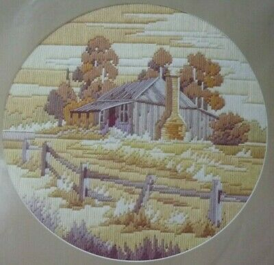 SEMCO LONG STITCH ORIGINALS - SUMMER SOLITUDE - KIT No 3097 - REVAMPED KIT