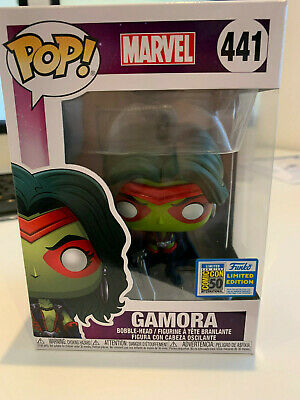 SDCC 2019 Exclusive  FUNKO POP  Marvel Guardians of the Galaxy GOTG GAMORA #441