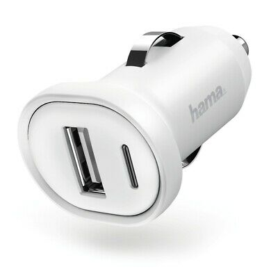 "Hama Car Charger "" Picco "", 1 a, White"