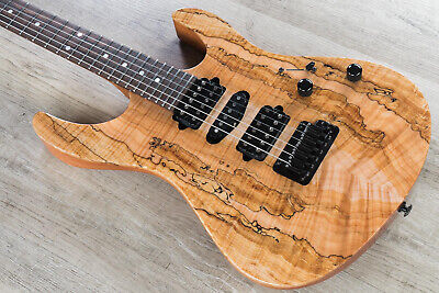 Suhr Modern Custom Hsh Guitar Flame Spalted Maple Top