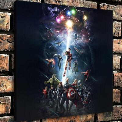 """Avengers Thanos Poster HD Canvas Print Painting Home decor Wall art  16""""x16"""""""