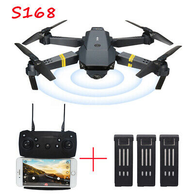 Drone Quadcopter X Mavic Pro Selfie RC 720p HD Camera FPV Foldable 3 Batteries