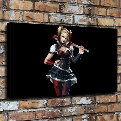 """Comics Harley Quinn HD Canvas prints Painting Home Decor Picture Wall art16""""x30"""""""