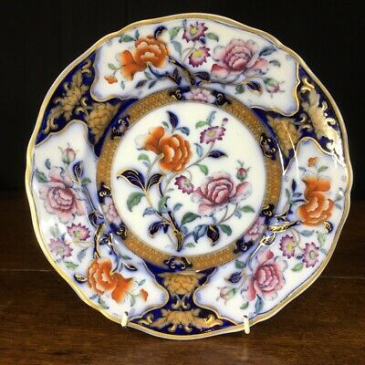 Ironstone plate, Eugenie pattern C.1830