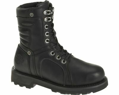 Harley-Davidson Black Leather Waterproof FXRG Zadora Boots D86010