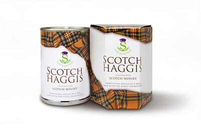 Stahly Traditional Scotch Haggis with Whisky in a Skin - 410g - Made in Scotland