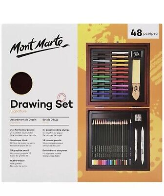 Mont Marte Signature Art Drawing Set 48pc