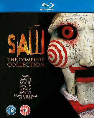 Saw 1 - 7: The Complete Collection Blu-ray New UNSEALED