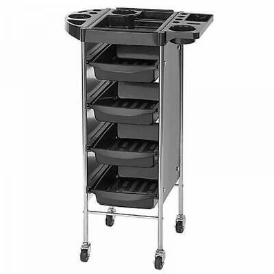 Sibel Black Passy Hairdressing Beauty Salon Trolley