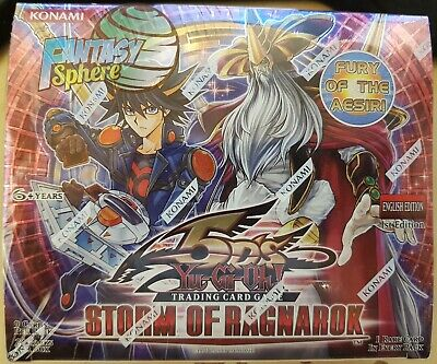 Storm Of Ragnarok - 1st Edition - Booster Box English Yugioh Brand New Sealed