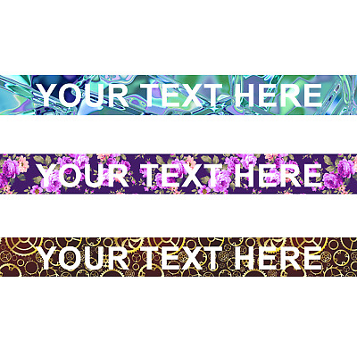 Printed or Pattern Lanyards - Personalized custom Lanyard Neck Strap with Text
