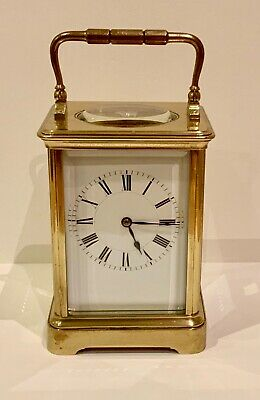 Henri Jacot Corniche Style Carriage Clock Timepiece - LOVELY EXAMPLE