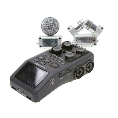 ZOOM H6 HANDY Recorder Interchangeable Microphone System Dslr - EUR