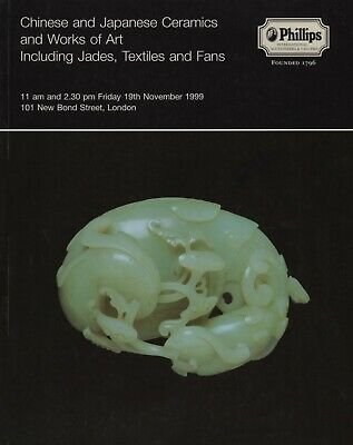 Chinese & Japanese Ceramics Works Of Art Jades Textiles Fans Auction Catalogue