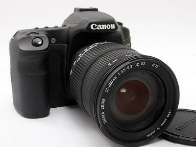 Canon EOS 40D 10.1MP Digital SLR Camera con 18-200 Lente Eccellente Japan F/S