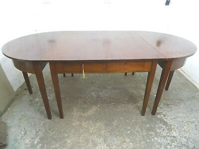 metamorphic,antique,mahogany,5 tables,dining table,D end,hall,round,square,table