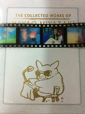 The Collected Works of Hayao Miyazaki Complete Box Set [Blu-ray] New and Sealed!