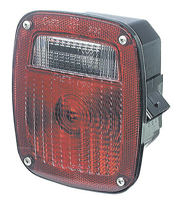 Grote STT LAMP, RED, SUPERNOVA LED, W/LIC, LH, OE CONNECTION (53640)