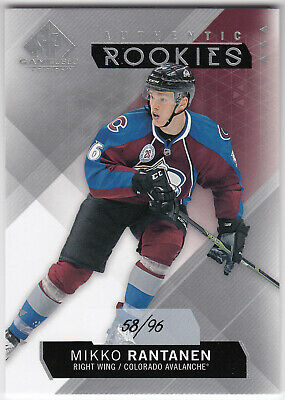 2015-16 Upper Deck SP Game Used Authentic Rookies MIKKO RANTANEN #149 #58/96 RC