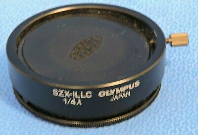 Olympus SZX-ILLC Optical Lens Assembly for SZX Stereo Microscope illuminator