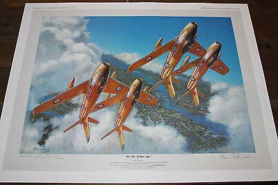 Don Connolly - In The Golden Age - Canadair F-86 Sabre - Golden Hawks