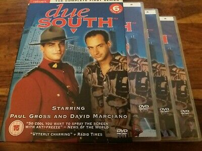 Due South - Complete First Series Season One 1 UK R2 6 Disc DVD Boxset VGC