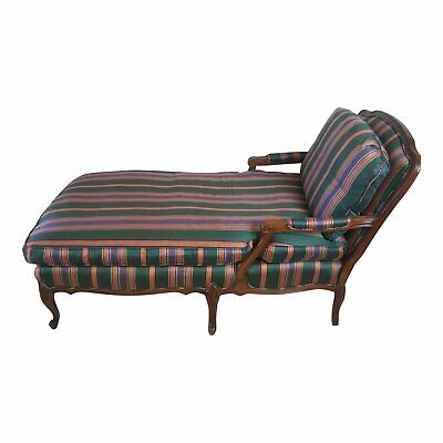 Luis XV Style French Provincial Chaise Lounge