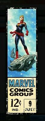 Corner Boxes Captain Marvel Series 1 Wave 3 Topps Marvel Collect Rare 777cc