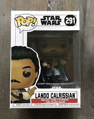 Funko Pop Star Wars General Lando Calrissian NEW MOLD & MINT! #291